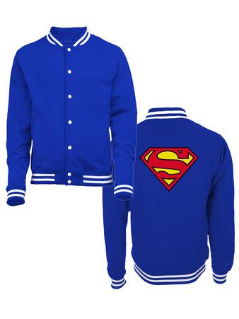 Superman (Logo) College Jacket Preview