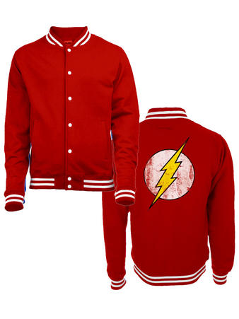 The Flash (Logo) College Jacket Preview