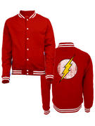 The Flash (Logo) College Jacket