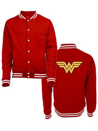 Wonder Woman (Logo) College Jacket Preview