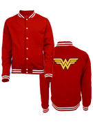 Wonder Woman (Logo) College Jacket