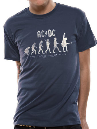 AC/DC (Evolution Of Rock) T-shirt Preview