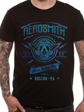 Aerosmith (Aeroforce One) T-shirt Preview