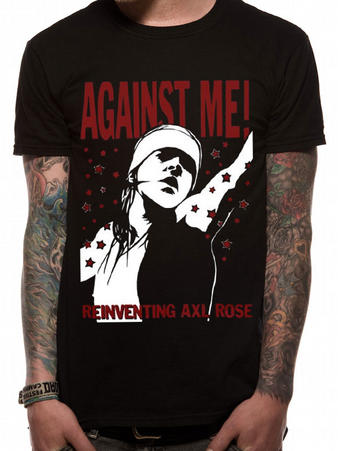 Against Me! (The Death Of) T-shirt Preview