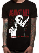 Against Me! (The Death Of) T-shirt