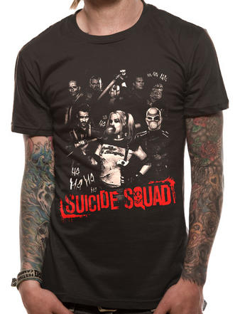 Suicide Squad (Ha Ha Ha) T-shirt Preview