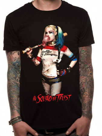 Suicide Squad (Harley Quinn Squad) T-shirt Preview