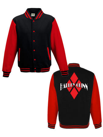 Harley Quinn (Logo) College Jacket Preview