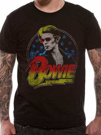David Bowie (Smoking) T-shirt Preview