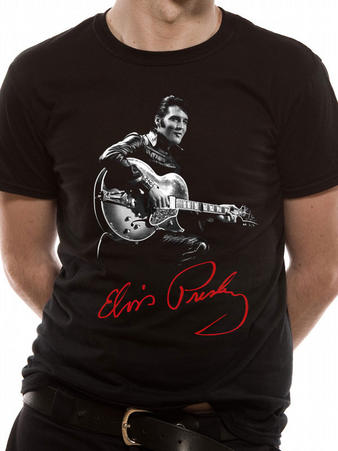 Elvis Presley (Signature) T-shirt Preview