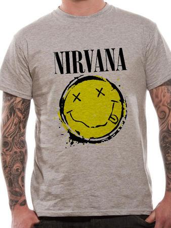 Nirvana (Smiley Splat) T-shirt Preview