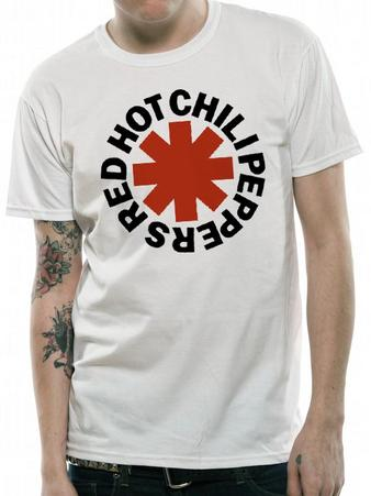 Red Hot Chili Peppers (White Asterix) T-shirt Preview