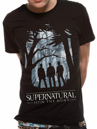 Supernatural (Group Outline) T-shirt Preview