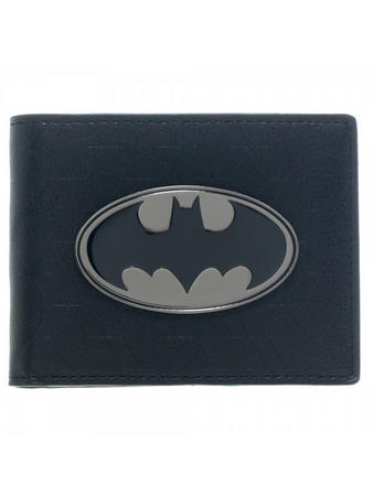 Batman (Black Logo) Bi-Fold Wallet Preview