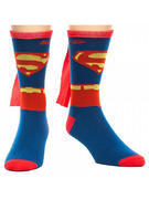 Superman (Logo (Sock With Cape) Socks With Cape
