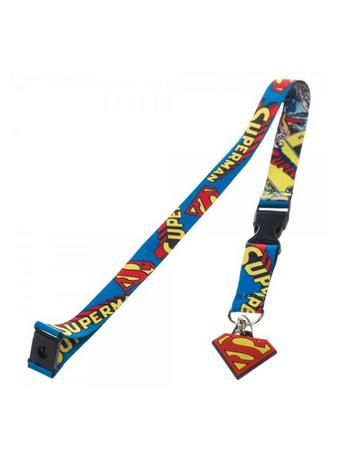 Superman (Logo) Lanyard With Charm Preview