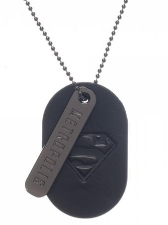 Superman (Pu & Logo) Printed Dog Tag Preview