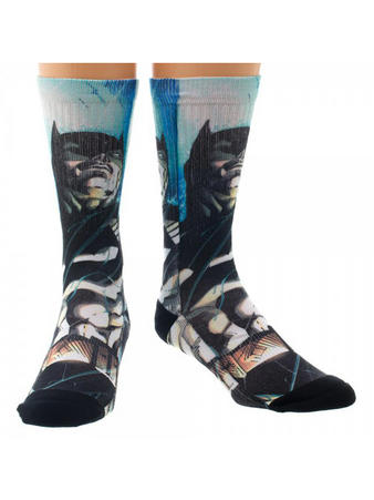Superman (Sublimated (Crew) Crew Socks Preview