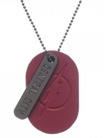 The Flash (Pu & Logo) Metal Dog Tag Preview