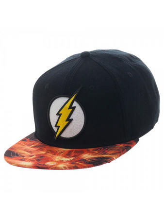 The Flash (Sublimated) Snapack Cap Preview