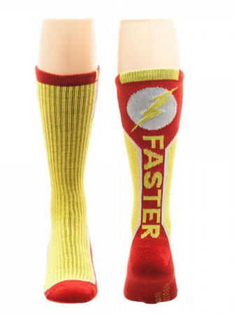The Flash (Text (Active Wear) Active Wear Socks Preview