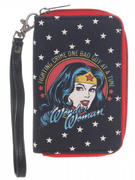 Wonder Woman (Face) Small Zip Wallet