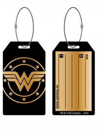 Wonder Woman (Logo) Bag Tag Preview