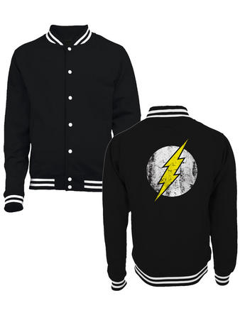 The Flash (Zoom) College Jacket Preview
