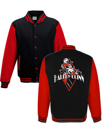 Harley Quinn (Diamond) College Jacket Preview