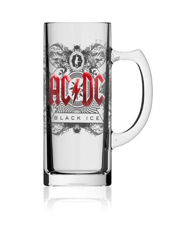 AC/DC (Black Ice) Beer Glass Preview