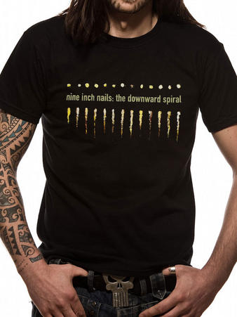Nine Inch Nails (Spiral) T-shirt Preview