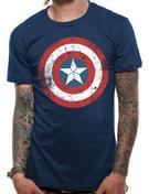 Civil War (CAP Shield Distressed) T-shirt