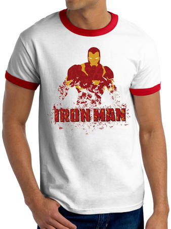 Civil War (Iron Man) T-shirt Preview