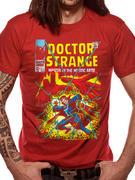 Dr Strange (Comic Cover Red) T-shirt