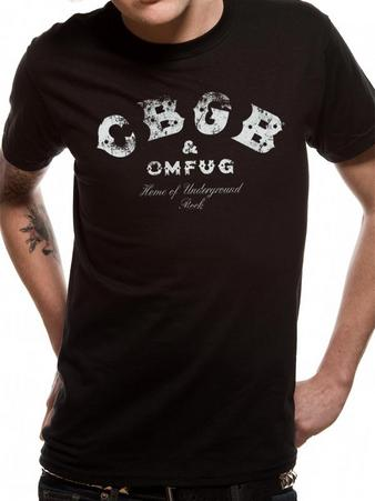 CBGB's (Distressed Logo) T-shirt Preview