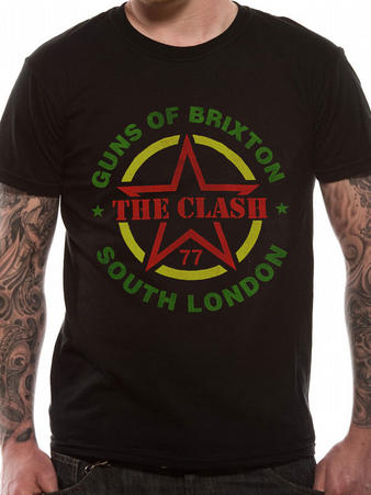The Clash (Guns Of Brixton) T-Shirt Preview