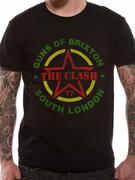 The Clash (Guns Of Brixton) T-Shirt