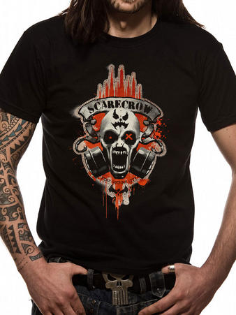 Batman (Scarecrow Skull) T-shirt Preview