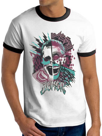Suicide Squad (Joker Montage) T-shirt Preview