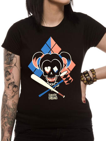 Suicide Squad (Cartoon HQ) Fitted t-shirt Preview