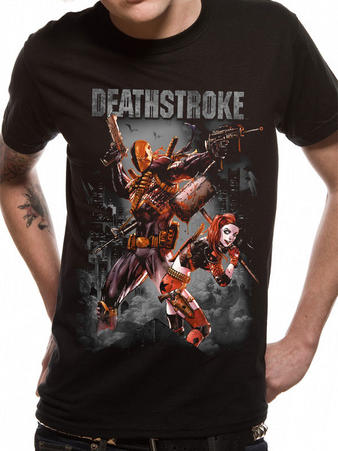 Justice League (Deathstroke & Harley Quinn) T-shirt Preview