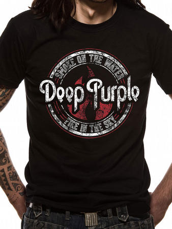 Deep Purple (Fire In The Sky) T-shirt Preview