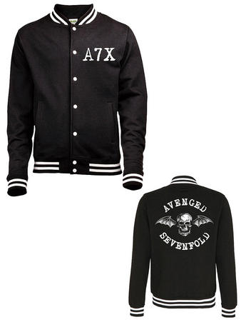 Avenged Sevenfold (Death Bat) Varsity Jacket Preview