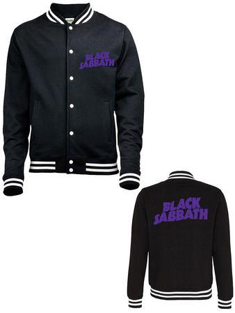 Black Sabbath (Wavy Logo) Varsity Jacket Preview