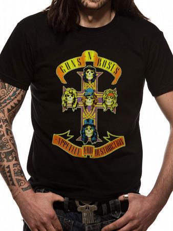 Guns N' Roses (Appetite For Destruction) T-shirt Preview