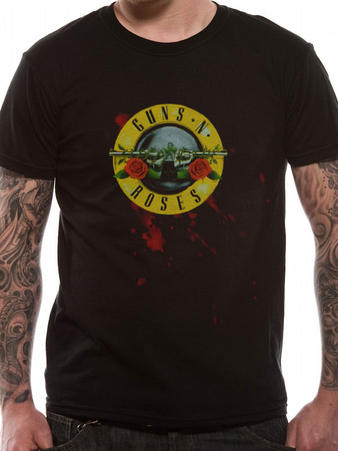 Guns N' Roses (Bullet) T-shirt Preview