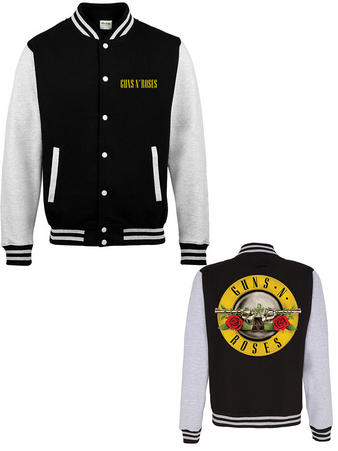 Guns N' Roses (Circle Logo) Varsity Jacket Preview