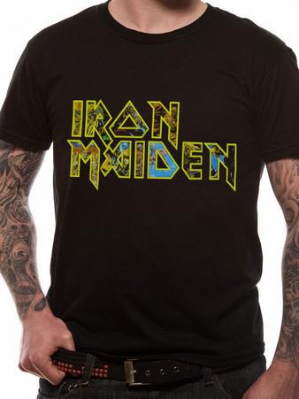 Iron Maiden (Eddie Logo) T-shirt Preview