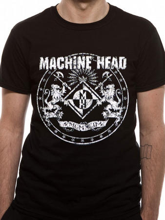 Machine Head (Classic crest) T-shirt Preview