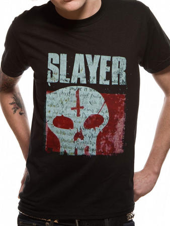 Slayer (Undisputed Attitude Skull) T-shirt Preview